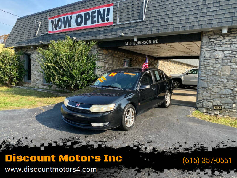 2004 Saturn Ion for sale at Discount Motors Inc in Old Hickory TN