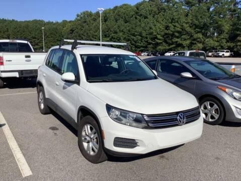 2012 Volkswagen Tiguan for sale at HW Auto Wholesale in Norfolk VA