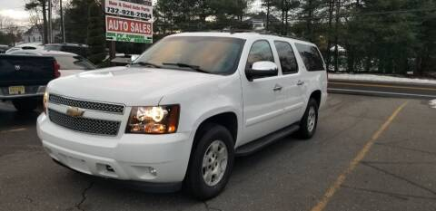 2008 Chevrolet Suburban for sale at Central Jersey Auto Trading in Jackson NJ