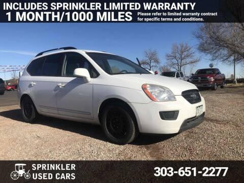 2009 Kia Rondo for sale at Sprinkler Used Cars in Longmont CO