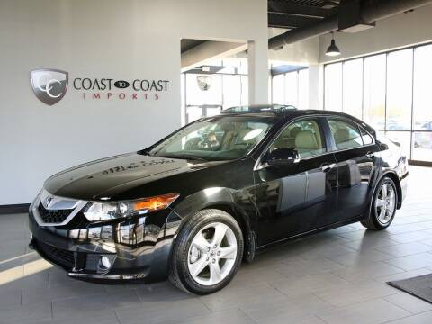 2010 Acura TSX for sale at Coast to Coast Imports in Fishers IN