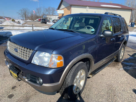 2003 Ford Explorer for sale at 51 Auto Sales Ltd in Portage WI