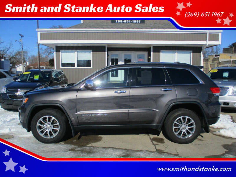 2015 Jeep Grand Cherokee for sale at Smith and Stanke Auto Sales in Sturgis MI