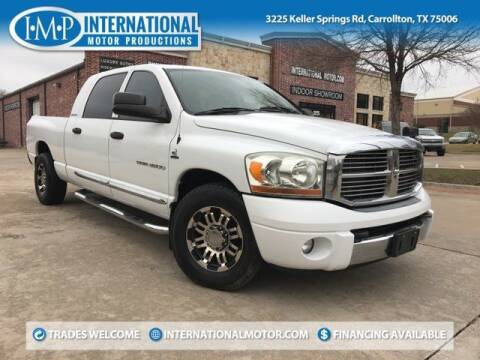 2006 Dodge Ram Pickup 3500 for sale at International Motor Productions in Carrollton TX
