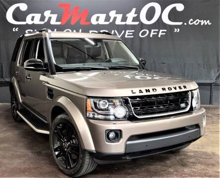 2016 Land Rover LR4 for sale at CarMart OC in Costa Mesa CA