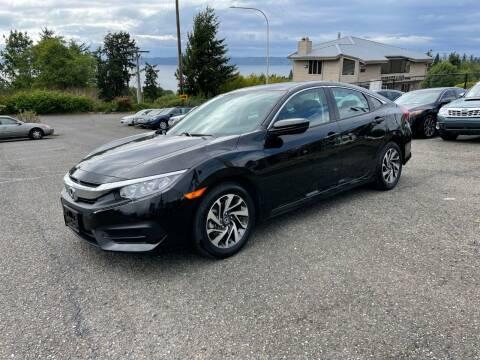 2016 Honda Civic for sale at KARMA AUTO SALES in Federal Way WA