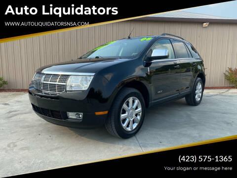 2008 Lincoln MKX for sale at Auto Liquidators in Bluff City TN