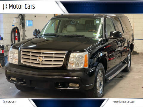 2004 Cadillac Escalade ESV for sale at JK Motor Cars in Pittsburgh PA