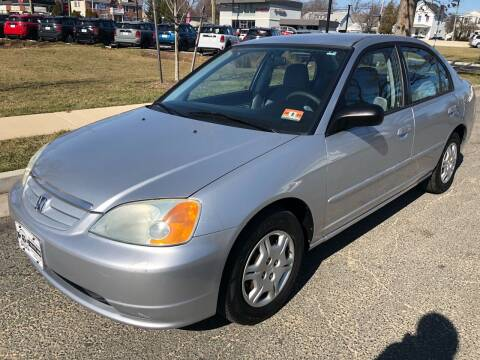 2002 Honda Civic for sale at EZ Auto Sales , Inc in Edison NJ