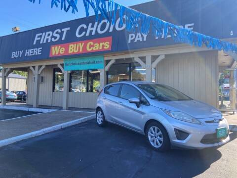 2012 Ford Fiesta for sale at First Choice Auto Sales in Rock Island IL