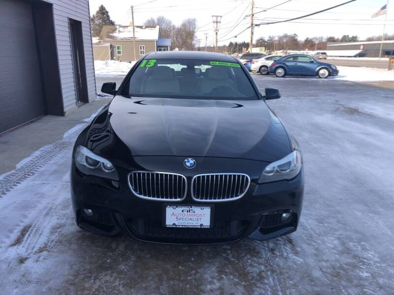 2013 BMW 5 Series for sale at Auto Import Specialist LLC in South Bend IN