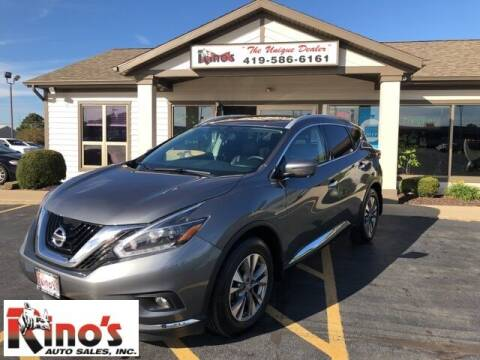 2018 Nissan Murano for sale at Rino's Auto Sales in Celina OH