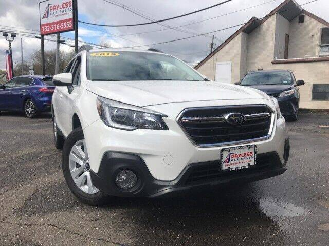 2019 Subaru Outback for sale at PAYLESS CAR SALES of South Amboy in South Amboy NJ