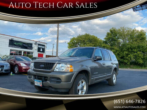 2002 Ford Explorer for sale at Auto Tech Car Sales in Saint Paul MN