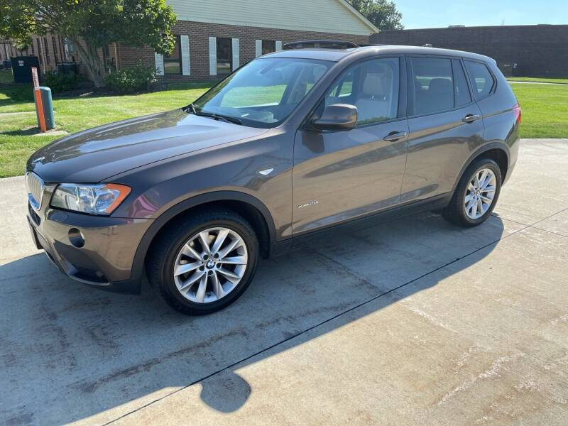 2014 BMW X3 for sale at Renaissance Auto Network in Warrensville Heights OH