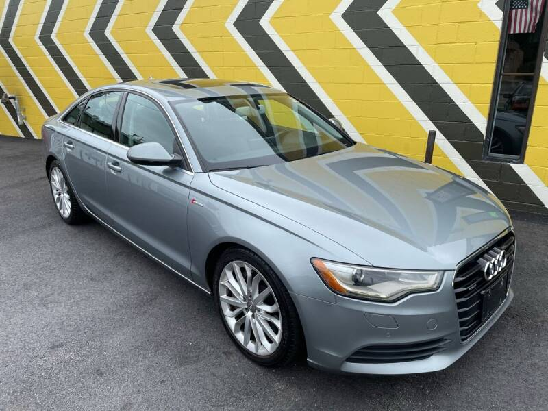 2012 Audi A6 for sale at MIRACLE AUTO SALES in Cranston RI