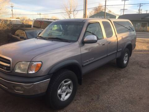 2001 Toyota Tundra for sale at Fast Vintage in Wheat Ridge CO