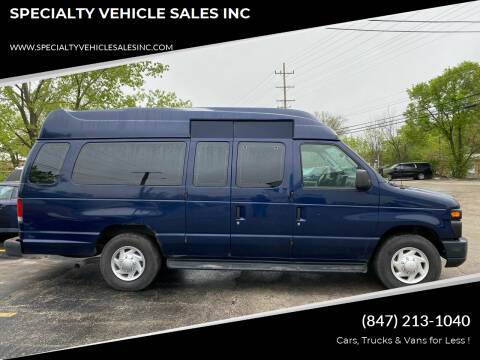 2009 Ford E-Series Wagon for sale at SPECIALTY VEHICLE SALES INC in Skokie IL