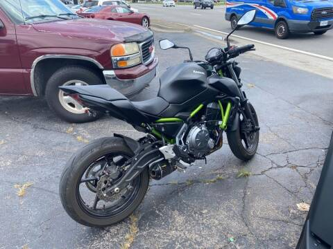 2019 Kawasaki Z650 for sale at Brian Jones Motorsports Inc in Danville VA