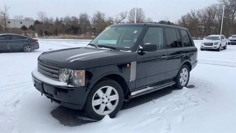 2005 Land Rover Range Rover for sale at WEINLE MOTORSPORTS in Cleves OH