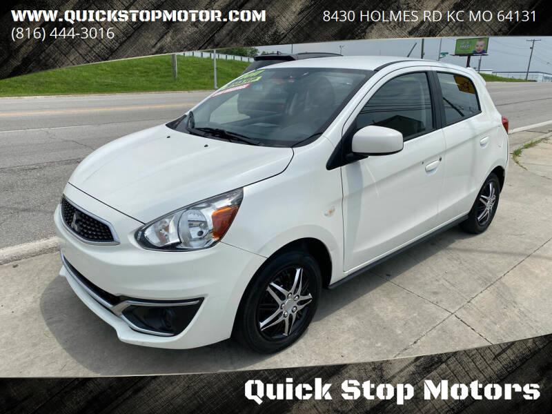 2017 Mitsubishi Mirage for sale at Quick Stop Motors in Kansas City MO