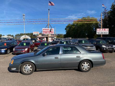 2005 Cadillac DeVille for sale at Affordable 4 All Auto Sales in Elk River MN