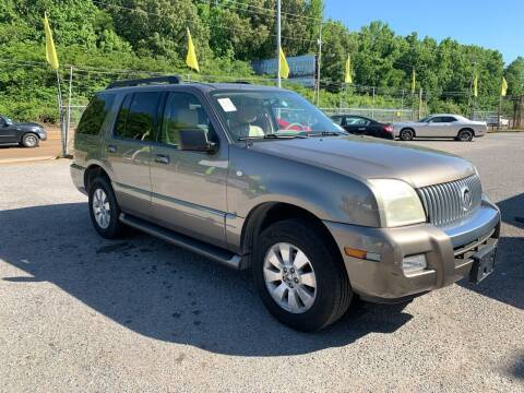 2006 Mercury Mountaineer for sale at Super Wheels-N-Deals in Memphis TN