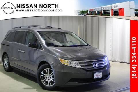 2013 Honda Odyssey for sale at Auto Center of Columbus in Columbus OH