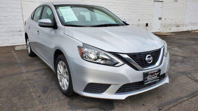 2019 Nissan Sentra for sale at ADVANTAGE AUTO SALES INC in Bell CA