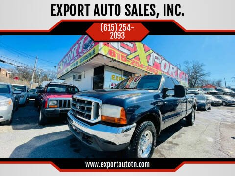 2001 Ford F-250 Super Duty for sale at EXPORT AUTO SALES, INC. in Nashville TN