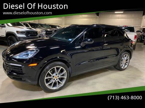 2019 Porsche Cayenne for sale at Diesel Of Houston in Houston TX