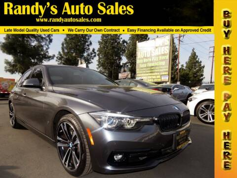 2018 BMW 3 Series for sale at Randy's Auto Sales in Ontario CA