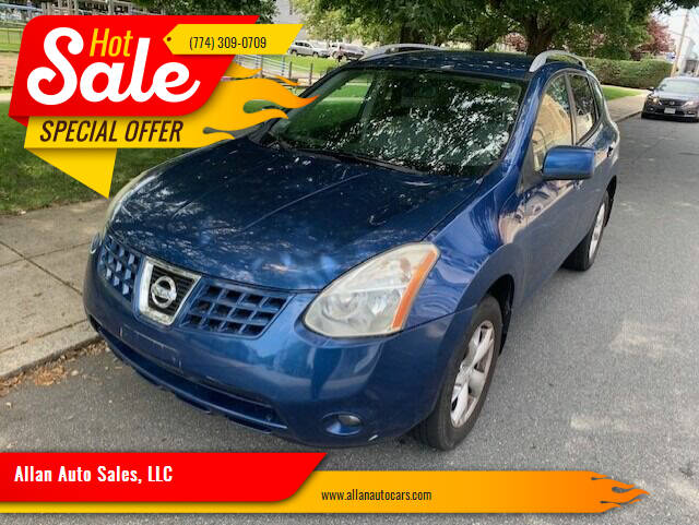 2008 Nissan Rogue for sale at Allan Auto Sales, LLC in Fall River MA