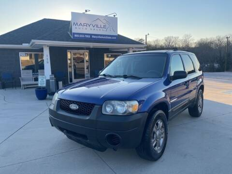 2005 Ford Escape for sale at Maryville Auto Sales in Maryville TN