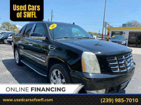 2007 Cadillac Escalade EXT for sale at Used Cars of SWFL in Fort Myers FL