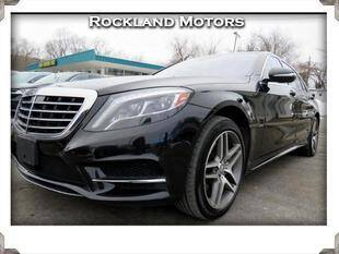 2015 Mercedes-Benz S-Class for sale at Rockland Automall - Rockland Motors in West Nyack NY