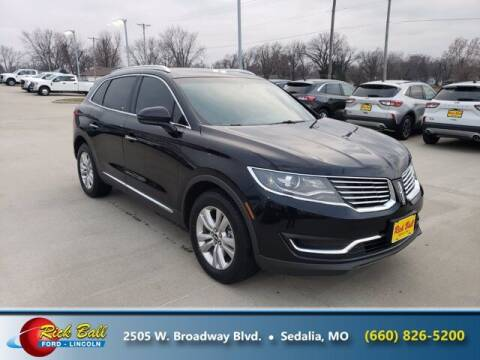 2018 Lincoln MKX for sale at RICK BALL FORD in Sedalia MO