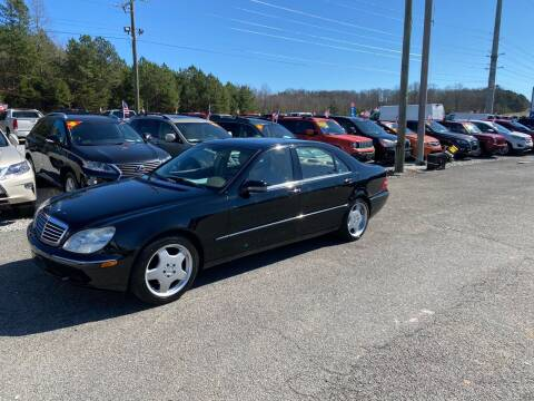 2000 Mercedes-Benz S-Class for sale at Billy Ballew Motorsports in Dawsonville GA