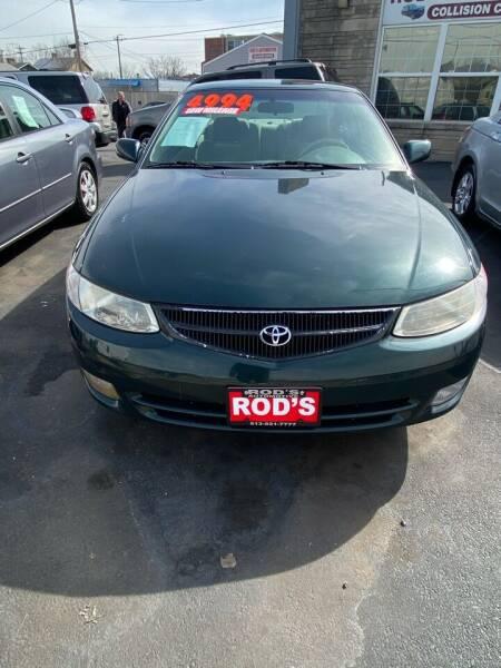 2000 Toyota Camry Solara for sale at Rod's Automotive in Cincinnati OH