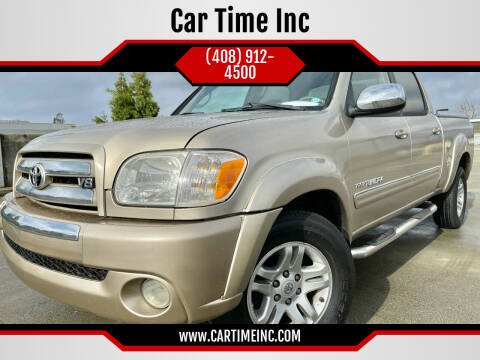 2006 Toyota Tundra for sale at Car Time Inc in San Jose CA