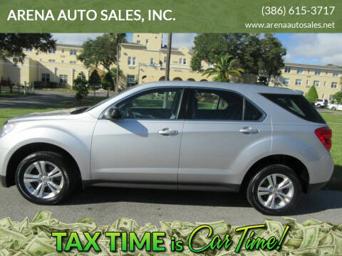 2011 Chevrolet Equinox for sale at ARENA AUTO SALES,  INC. in Holly Hill FL