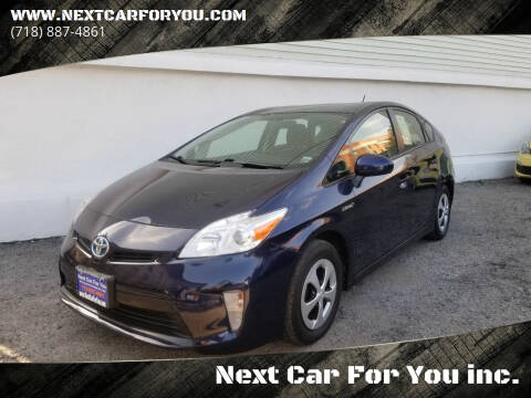 2015 Toyota Prius for sale at Next Car For You inc. in Brooklyn NY