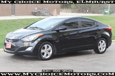 2012 Hyundai Elantra for sale at Your Choice Autos - My Choice Motors in Elmhurst IL