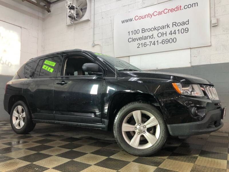 2014 Jeep Compass for sale at County Car Credit in Cleveland OH