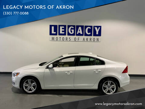 2015 Volvo S60 for sale at LEGACY MOTORS OF AKRON in Akron OH