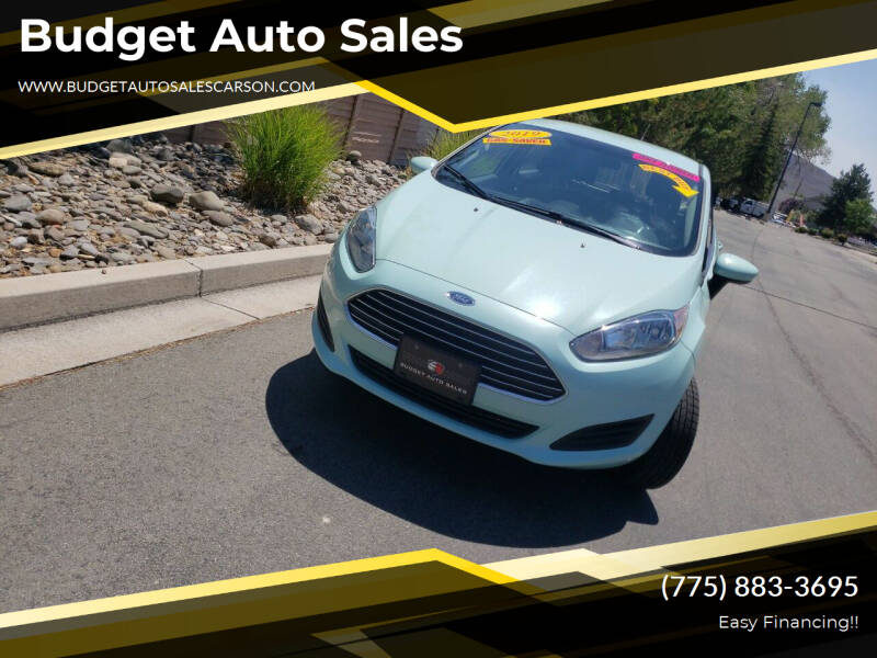 2019 Ford Fiesta for sale at Budget Auto Sales in Carson City NV