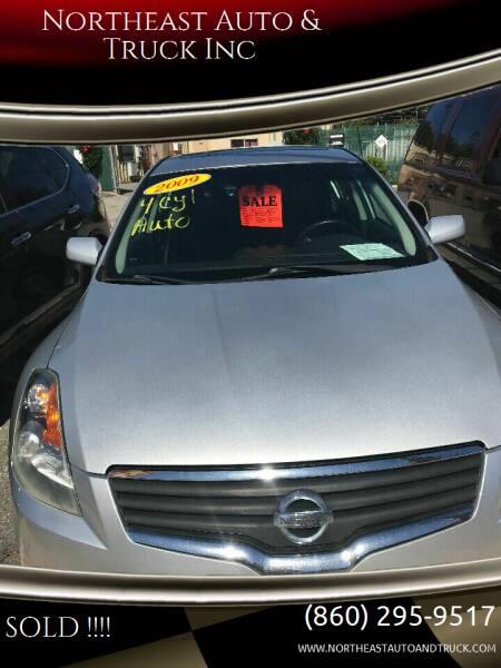 2009 Nissan Altima for sale at Northeast Auto & Truck Inc in Marlborough CT