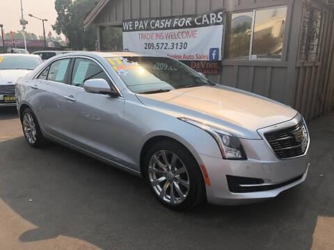 2017 Cadillac ATS for sale at Devine Auto Sales in Modesto CA