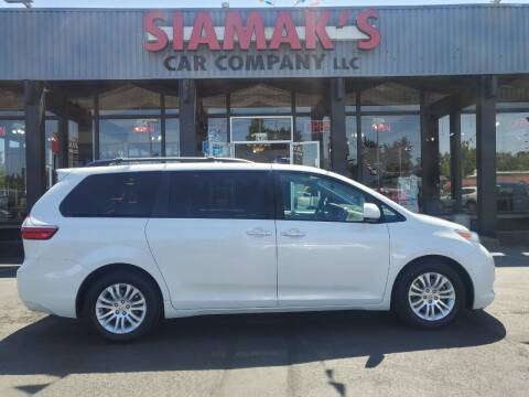 2017 Toyota Sienna for sale at Siamak's Car Company llc in Salem OR
