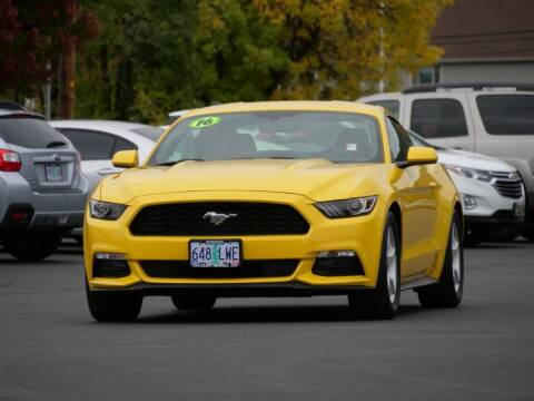 2016 Ford Mustang for sale at CLINT NEWELL USED CARS in Roseburg OR